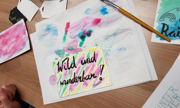 Mal-Workshop bei ART Creativ in Löhne